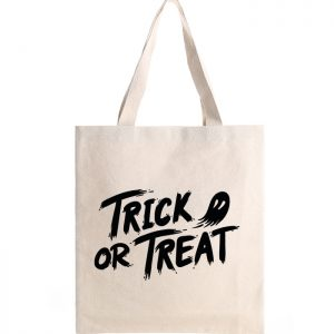 Canvas tote-bag – Trick or Treat